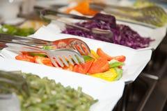 Nourriture fraîche 10 de photo de buffet de restaurant Images stock
