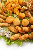 Nourriture frite photographie stock