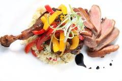 Nourriture frite de canard Images stock