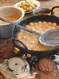 Nourriture frite pour des casse-croûte Photo stock