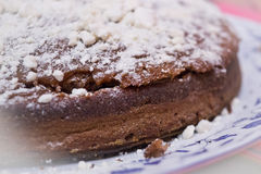 Nourriture : Gâteau de chocolat Photographie stock
