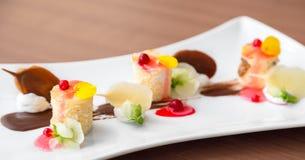 Nourriture gastronome délicieuse photo stock