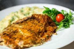 Nourriture gastronome délicieuse photographie stock libre de droits