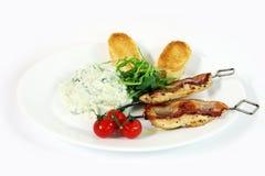 Nourriture grecque image stock