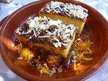 Nourriture grecque saine photographie stock