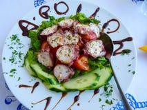 Nourriture grecque saine photos stock