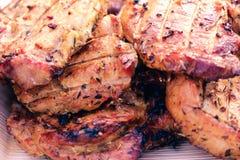 Nourriture grillée de viande de bifteck de boeuf, filet image libre de droits