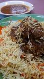 Nourriture indienne Images stock