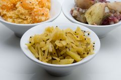 Nourriture indienne photographie stock