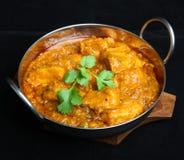 Nourriture indienne, cari de Dansak de poulet photographie stock libre de droits