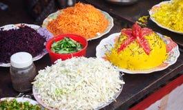 Nourriture indienne de festival Photo libre de droits
