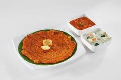 Nourriture indienne du sud Image libre de droits
