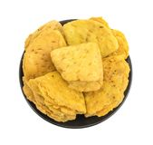 Nourriture indienne Khari Snack de boulangerie photos stock