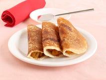 Nourriture indienne Masala Dosa Image libre de droits