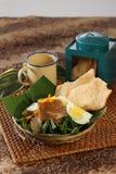 Nourriture indonésienne Photographie stock libre de droits