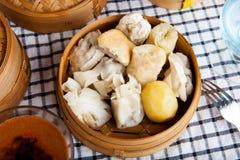Nourriture indonésienne Baso Tahu Bandung Photos stock