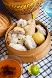 Nourriture indonésienne Baso Tahu Bandung Photo libre de droits