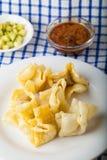 Nourriture indonésienne Batagor Pangsit Photographie stock libre de droits
