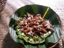 Nourriture indonésienne de rue Photographie stock