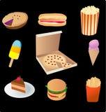 Nourriture industrielle Photo stock