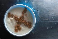 Nourriture iranienne - cuvette de ferni Image stock