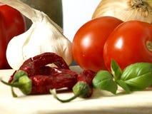 Nourriture italienne photographie stock