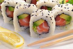 Nourriture japonaise. Photos libres de droits