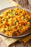 Nourriture kenyane délicieuse - patate douce d'Irio avec les pois et la Co photo libre de droits