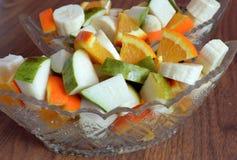 Nourriture, légume, salade, saine, légumes, repas, frais, végétarien, carotte, vert, poivre, oignon, plat, cuvette, tomate, régim images libres de droits