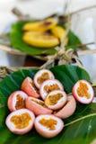Nourriture locale de South Pacific Images libres de droits