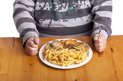 Nourriture malsaine Images stock