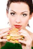 nourriture malsaine Image libre de droits