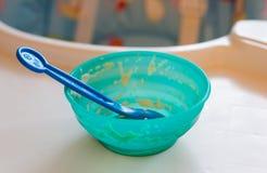 Nourriture mangée Photographie stock