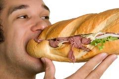 Nourriture mangeuse d'hommes Photographie stock libre de droits