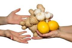 Nourriture naturelle Photographie stock libre de droits