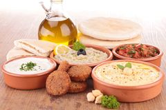 Nourriture orientale Photo stock