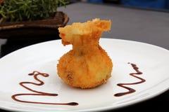 Nourriture panée Image stock