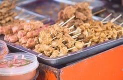 Nourriture philippine de rue Photographie stock