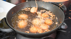 Nourriture philippine Tokneneng de rue photos stock