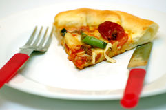 Nourriture - pizza Photo libre de droits
