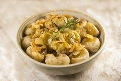 Nourriture portugaise photo stock