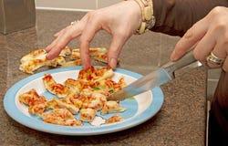 Nourriture pour l'enfant en bas âge Photos libres de droits
