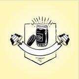 Nourriture pour l'illustration de vecteur de santé images libres de droits