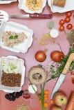 Nourriture pour la forme physique image stock