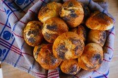 Nourriture pour la série de fins gourmets - parmesan Buns#4 Photographie stock libre de droits