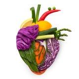 Nourriture pour le coeur. Images libres de droits