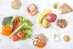 Nourriture pour le régime planétaire de santé image libre de droits