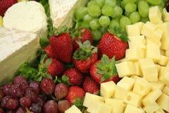 Nourriture pour le vin Photographie stock