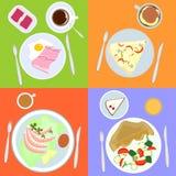 Nourriture pour toute la journée Photos libres de droits