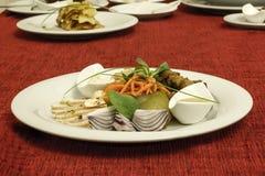 Nourriture russe traditionnelle Photos libres de droits